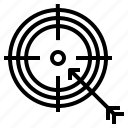 arrow, darts, target, targeting icon