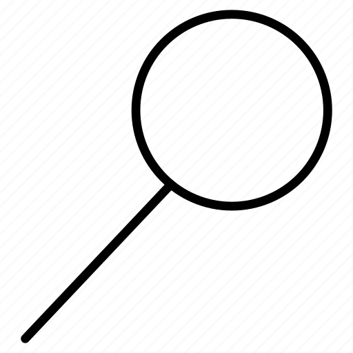 glass, lens, loupe, magnifying, searching icon