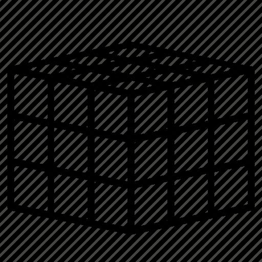 blocks, cube, cubic, rubik's, rubiks icon