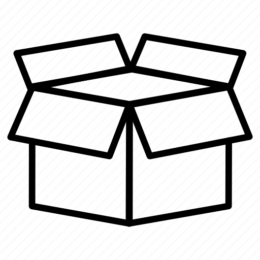 box, delivery, packages, sending icon