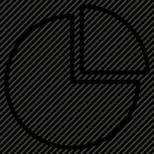 chart, graphics, mathematics, numbers, pie, statistics icon