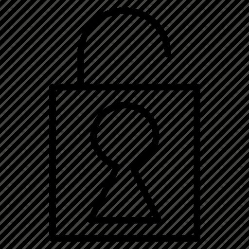 close, key, lock, save icon