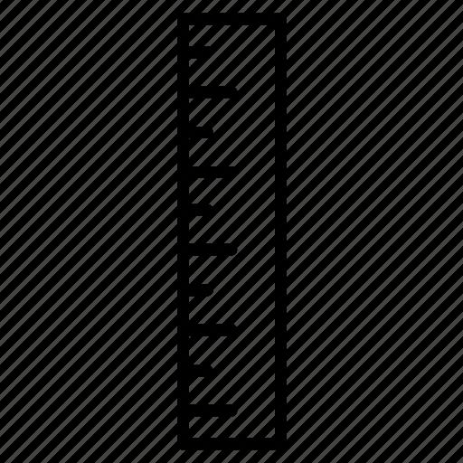 creative, measure, ruler, scale, size icon