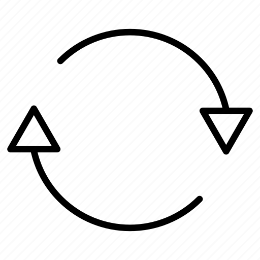 again, redo, sync, synchronization icon