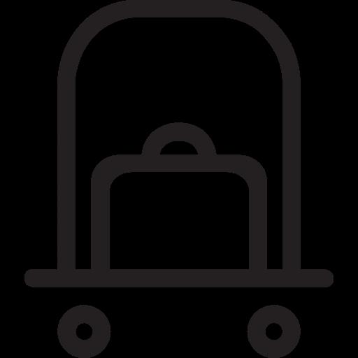 doorman, luggage, man, porter icon