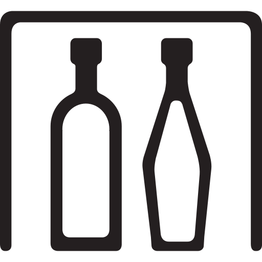 beverage, drink, kitchen, minibar, refrigerator, snaks icon
