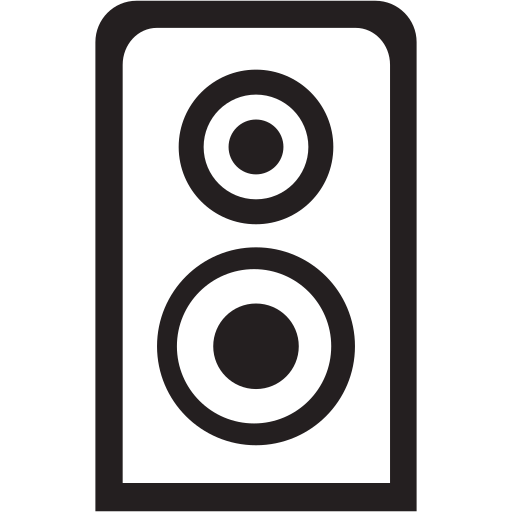 club, dance, music, night, sound, speaker icon