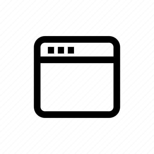 interface, ui, uiux, web, window icon
