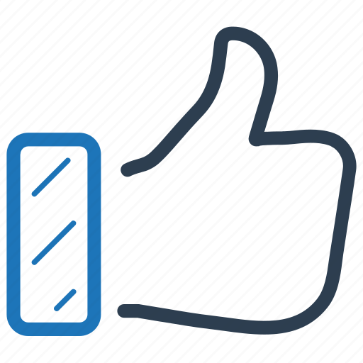 feedback, like, review, thumbs up icon