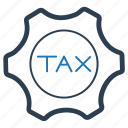 income, service, tax icon