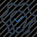 concept, idea development, preferences, solution icon