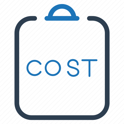 cost, report, statement icon
