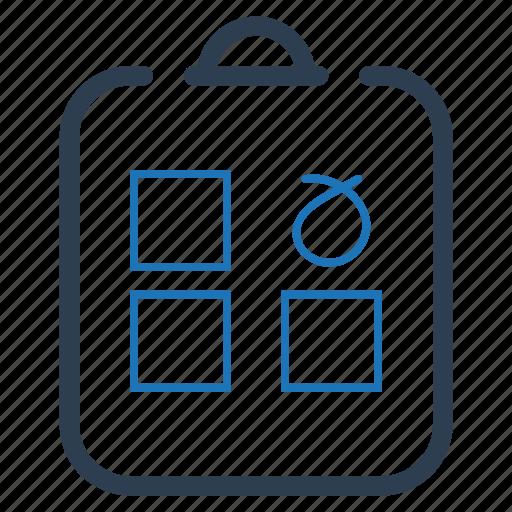 checkbox, checklist, choice, questionnaire icon