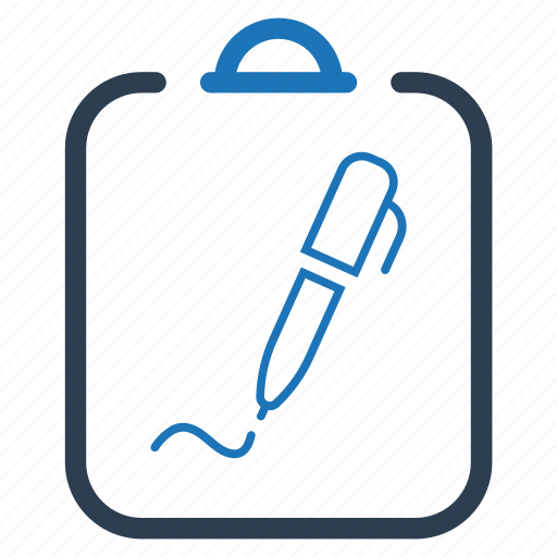 agreement, business contract, sign, signature icon