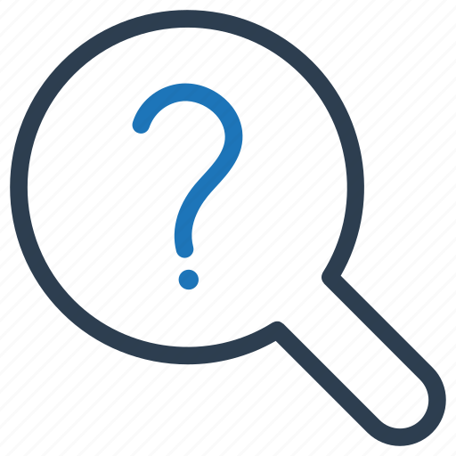 find, problem, question, search icon