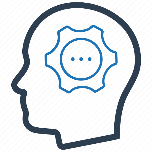 brainstorming, creative, head, thinking icon