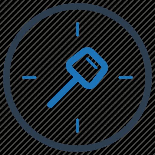 key, keyword, target icon