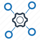 connection, connectivity, support network icon