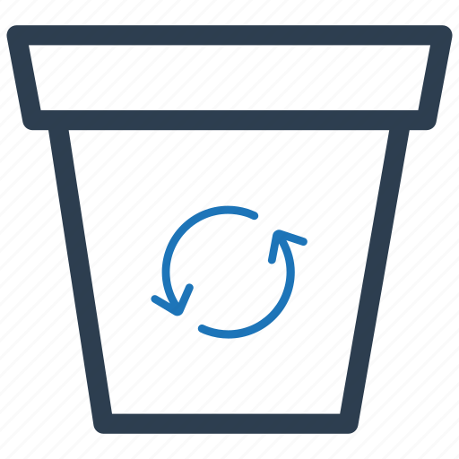 bin, recycle, recycling icon