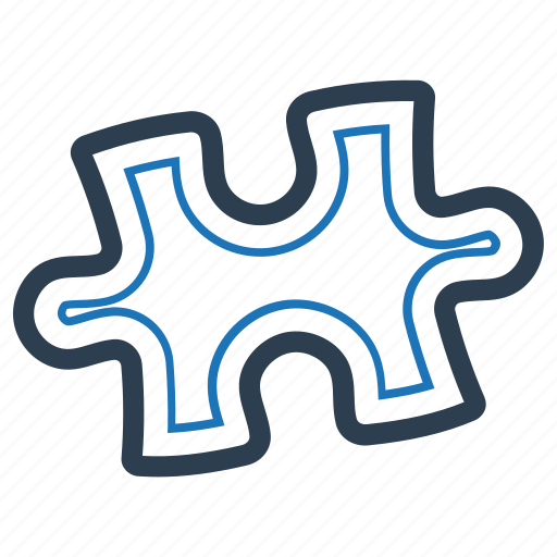 Complex Difficult Puzzle Solution Icon