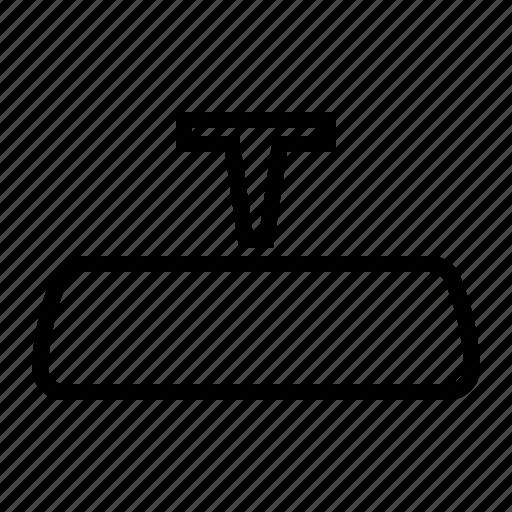 Automobile, car, interior, mirror, rearview, universal icon - Download on Iconfinder