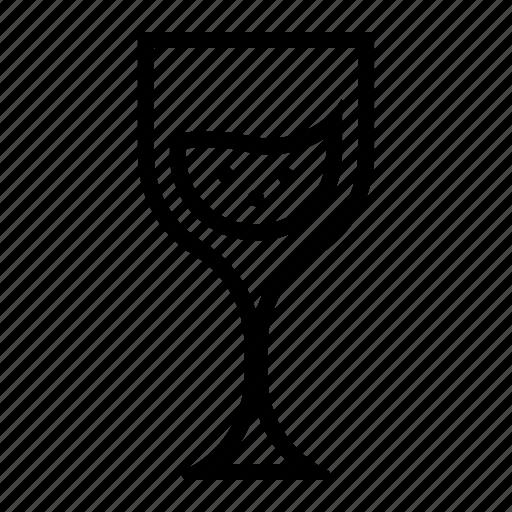 christmas, drink, glass, noel, wine icon