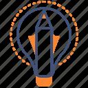 creative, idea, illustration icon