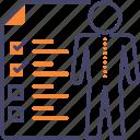 resources, human, career, skills icon