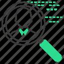 find, profil, cv, shearch icon