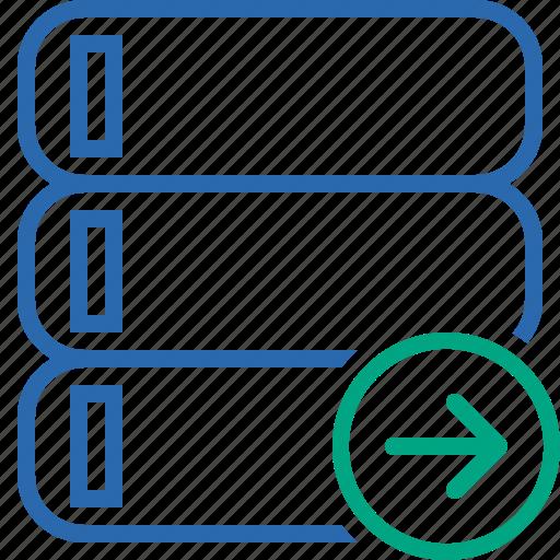 Data, database, next, server, storage icon - Download on Iconfinder