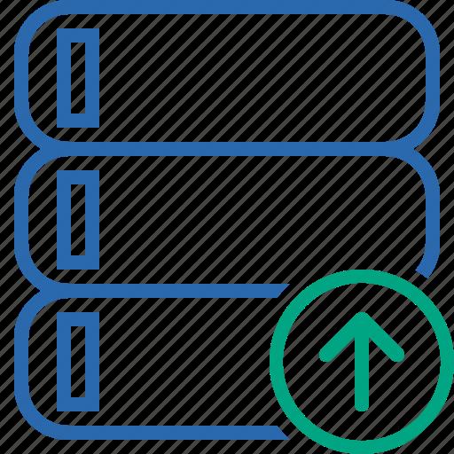 Data, database, server, storage, upload icon - Download on Iconfinder