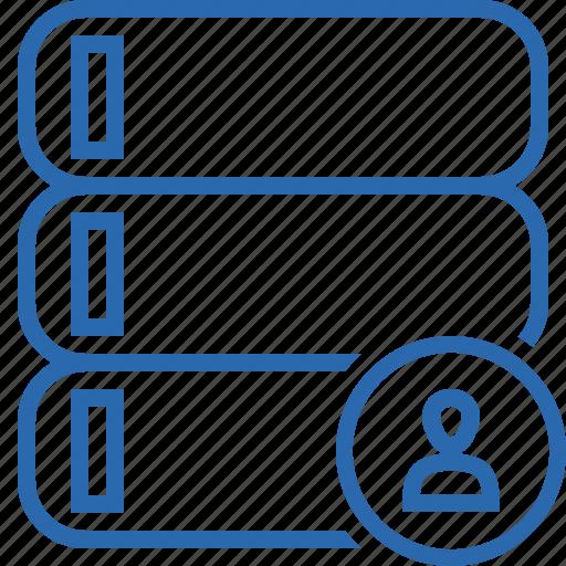 Data, database, server, storage, user icon - Download on Iconfinder