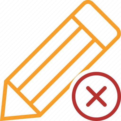 Cancel, draw, edit, pen, pencil, tool, write icon - Download on Iconfinder