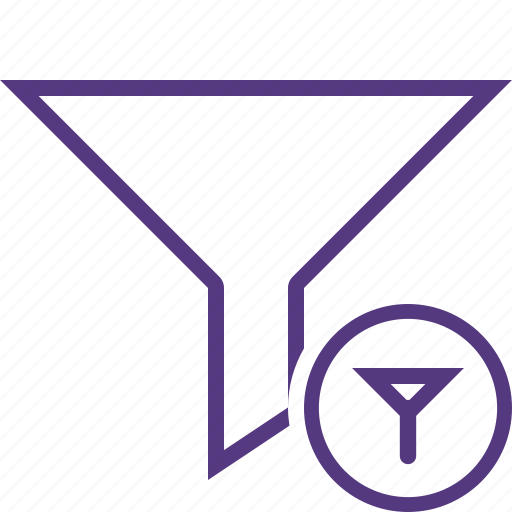 Filter, funnel, sort, tools icon - Download on Iconfinder