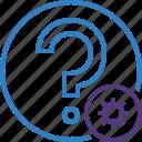 faq, help, question, settings, support