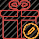 box, christmas, edit, gift, present, xmas