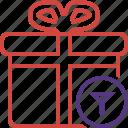 box, christmas, filter, gift, present, xmas