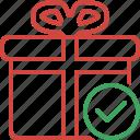 box, christmas, gift, ok, present, xmas
