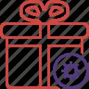 box, christmas, gift, present, settings, xmas