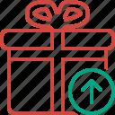 box, christmas, gift, present, upload, xmas