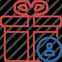 box, christmas, gift, present, user, xmas