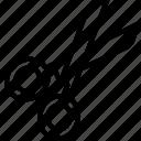 cut, scissors, tool, tools icon