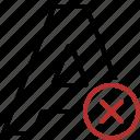 cancel, document, font, format, message, page, text