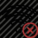 cancel, connection, fi, internet, wi, wifi, wireless
