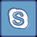 metro, outline, skype