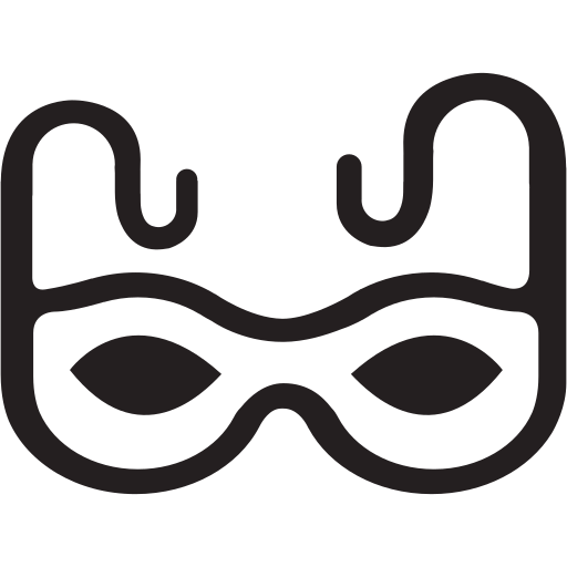 carnival, costume, costumes, halloween, mask icon