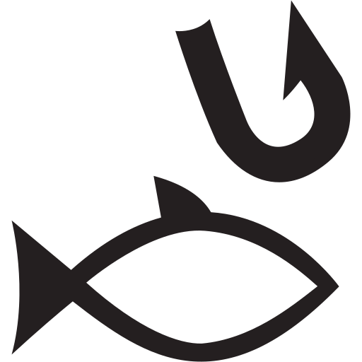 animal, fish, fishing, swimming icon