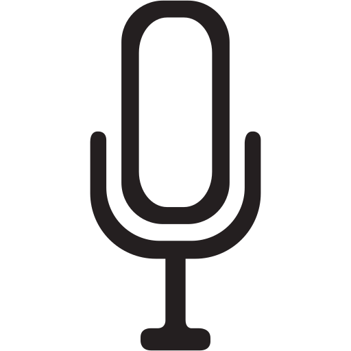 audio, device, gadget, gadgets, media, microphone icon