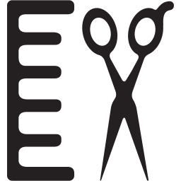 beauty, hair, hairdresser, salon, scissors icon