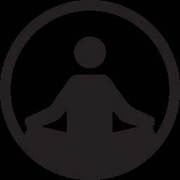 exercise, fitness, pilates, pillates, strength, yoga icon